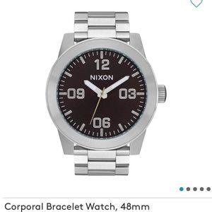 Brand New Nixon Corporal Bracelet watch 48mm